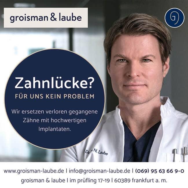 Praxismarketing – Beispiel Groisman & Laube
