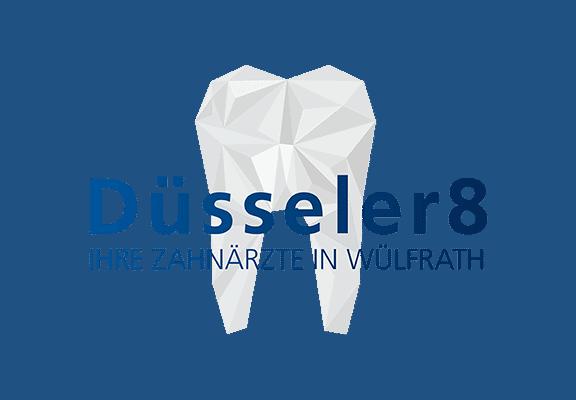 Praxislogo Beispiel Düsseler8