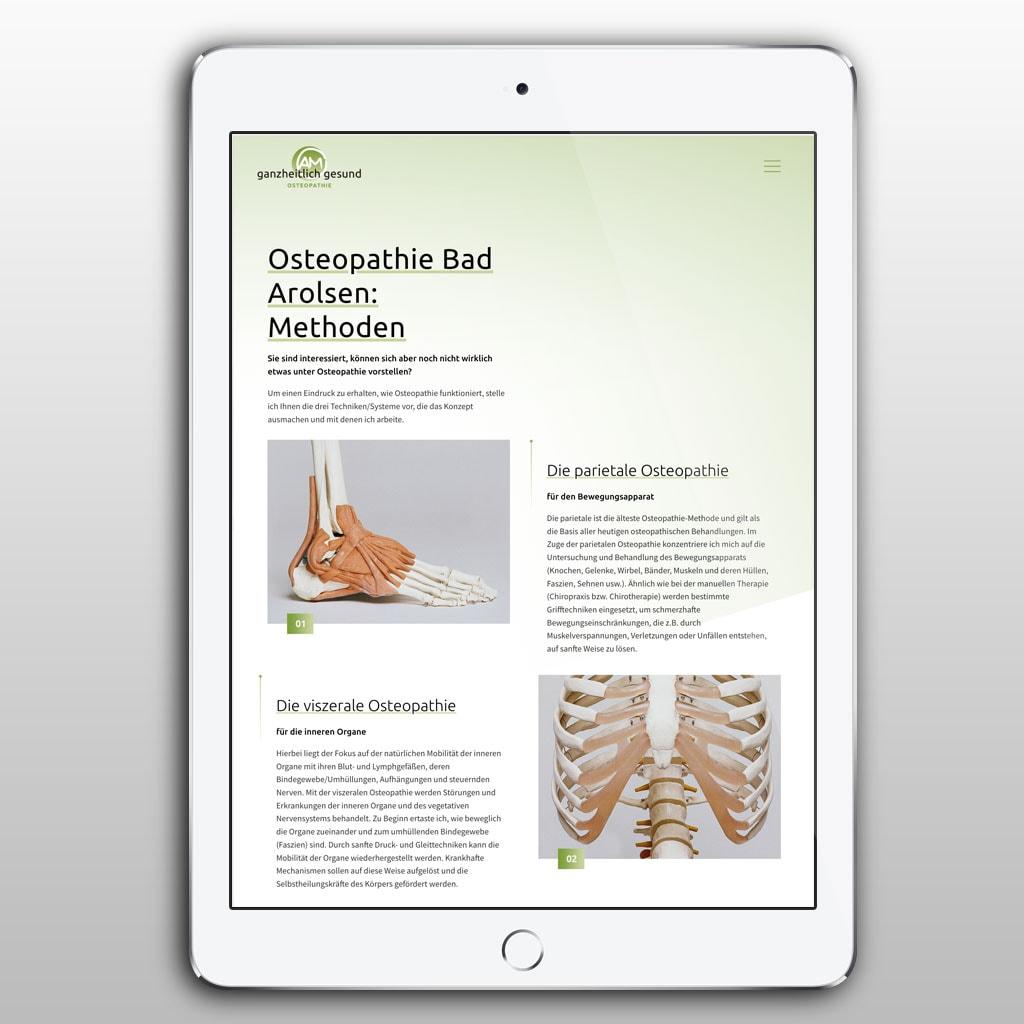 Praxismarketing Osteopathie