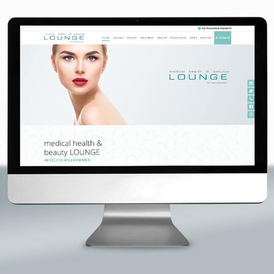 Praxismarketing – Beispiel Stonesmart Lounge