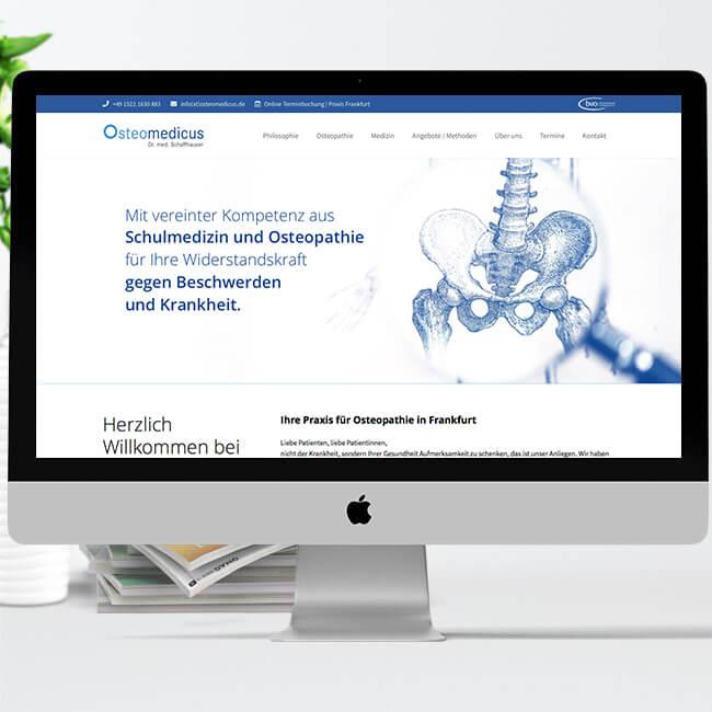 Praxismarketing – Beispiel Osteomedicus