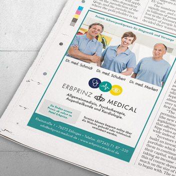 Praxismarketing – www.erbprinz-medical.de