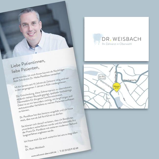 Praxismarketing – Beispiel Dr. Marc Weisbach